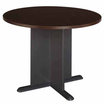 Bush Industries Mocha Cherry Round Conference Table