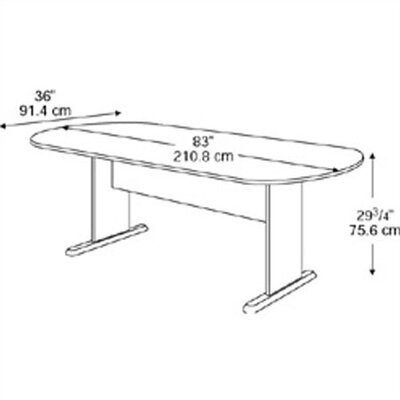 Bush Industries Series A: Racetrack Conference Table