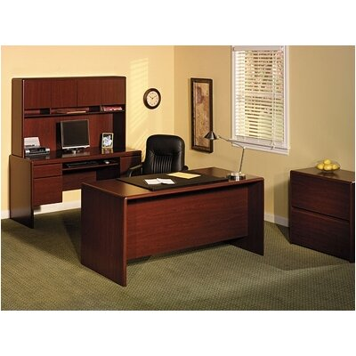 Bush Industries Northfield Double Pedestal Office Desk