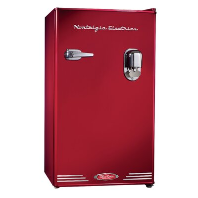 Retro Series Compact Dispensing Refrigerator