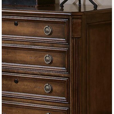 Hooker Furniture Brookhaven Lateral File in Medium Clear Cherry