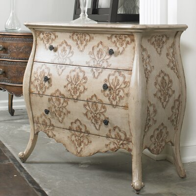 Hooker Furniture Melange Bianca 3 Drawer Chest