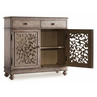 Hooker Furniture Melange Filigree 2 Drawer Hall Chest