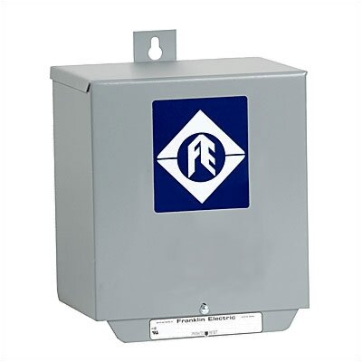 Little Giant 1-1/2 HP, 230V Quick Disconnect Control Box for 3-Wire Submersible Deep Well Pumps
