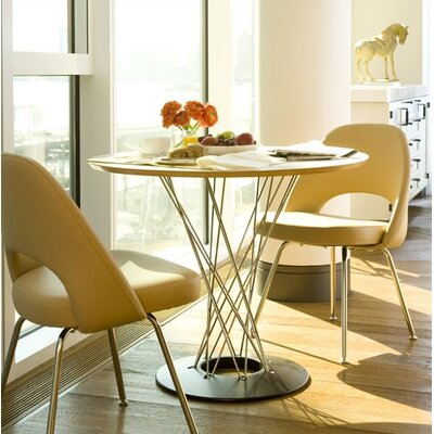 Knoll ® Noguchi Cyclone™ 3 Piece Dining Table with Saarinen Executive Chairs