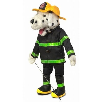 "Silly Puppets 25"" Dalmatian Fire Dog Full Body Puppet"