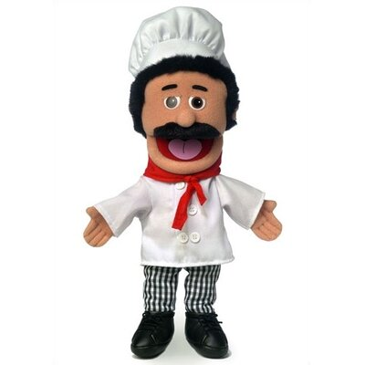 "Silly Puppets 14"" Chef Luigi Glove Puppet"