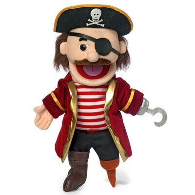 "Silly Puppets 14"" Pirate Glove Puppet"
