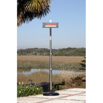 Glass Face Electric Patio Heater