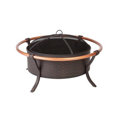 Fire Sense Rail Fire Pit