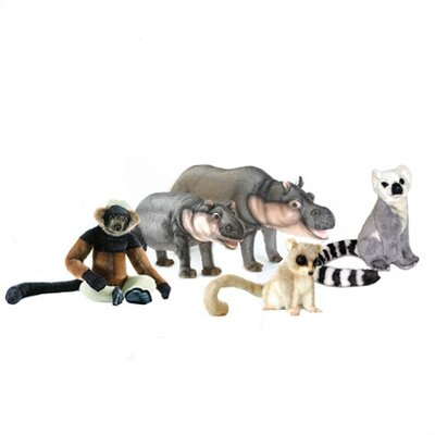 Hansa Toys Safari Stuffed Animal Collection VII