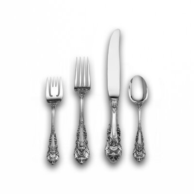 Wallace Sir Christopher 4 Piece Flatware Set with Old Style Blade