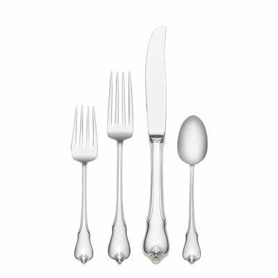 Wallace Grande Colonial 4 Piece Dinner Flatware Set