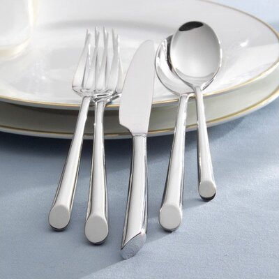 Towle Silversmiths Wave 20 Piece Flatware Set