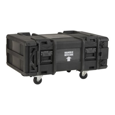 "SKB Cases 28"" Deep 4U Roto Shock Rack in Black"