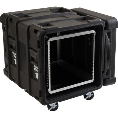 "SKB Cases 24"" Deep 10U Roto Shock Rack in Black"