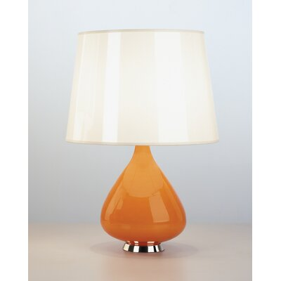 Robert Abbey Jonathan Adler Capri Small Table Lamp in Orange