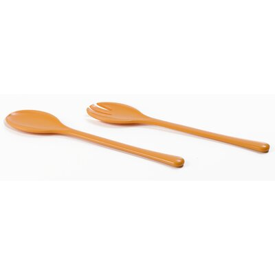 Omada Eco Living Salad Servers in Orange