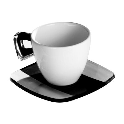 Omada Square Coffee Crystal Teacup
