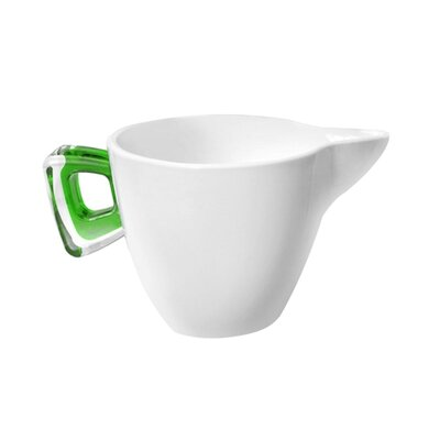 Omada Square Porcelain Milk Jug with Cover