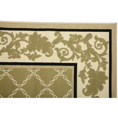 Duracord Outdoor Rugs Southport Trellis Pesto Rug