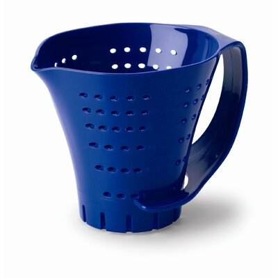 Chef's Planet Three Cup Measuring Colander in Blue