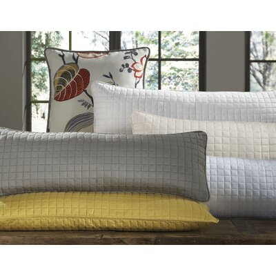 DownTown Company Urban Egyptian Cotton Quilted Decorative Pillow Cover