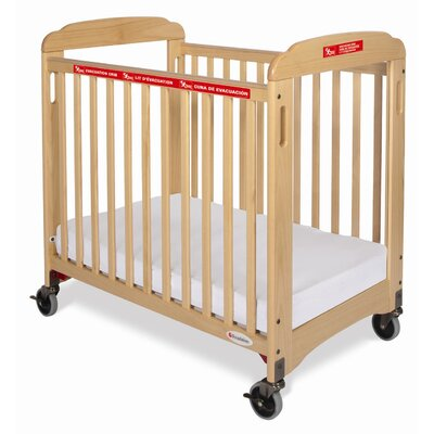Foundations First Responder Compact Sided Evacuation Clearview Crib