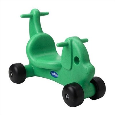 CarePlay Puppy Dog Ride - On / Walker with Handles in Green