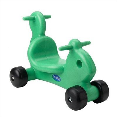 CarePlay Squirrel Ride - On / Walker with Handles in Green