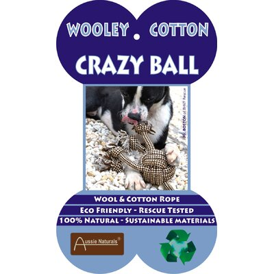 ABO Gear Crazy Ball Dog Toy