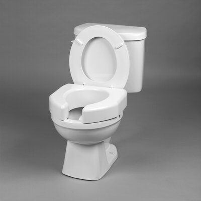 Ableware Basic Open Front Elevated Toilet Seat