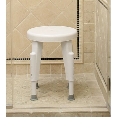 Non-Rotating Adjustable Shower Stool