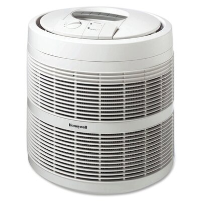 Honeywell Enviracaire HEPA Air Purifiers, 3-Speeds, 475 Sq Ft. Cap., 18&quot;x18&quot;x19-9/16&quot;, White