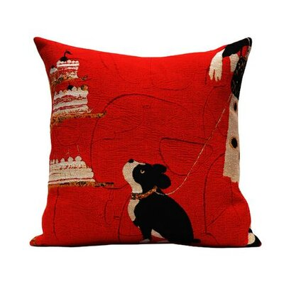 Jules Pansu Rick Tapestry Cotton Twill Pillow