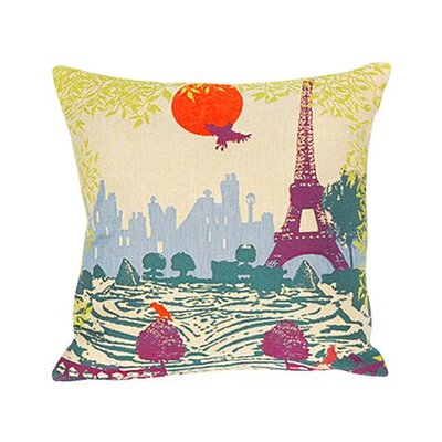 Jules Pansu Tuileries Tapestry Cotton Twill Pillow