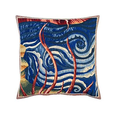 Jules Pansu L'Eau Tapestry Cotton Twill Pillow