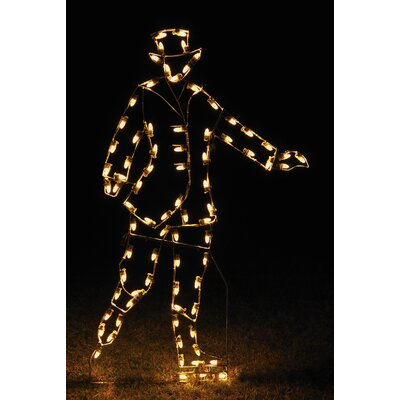 Victorian Skater Man Light