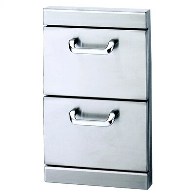 "Lynx Standard Utilty Drawers w/ 5"" Offset Handles"