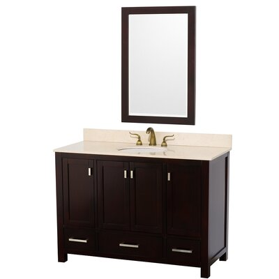 Wyndham Collection Abingdon 48&quot; Single Bathroom Vanity Set