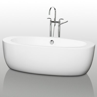 Wyndham Collection UVA 71&quot; x 35&quot; Soaking Bathtub
