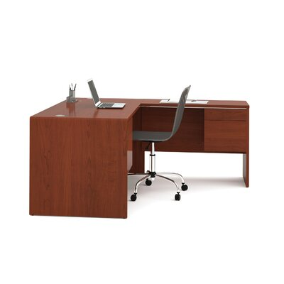 Bestar Fall Creek L-Shaped Workstation