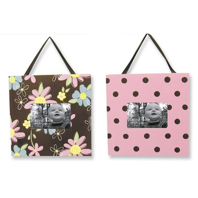 Trend Lab Blossoms Picture Frame (Set of 2)