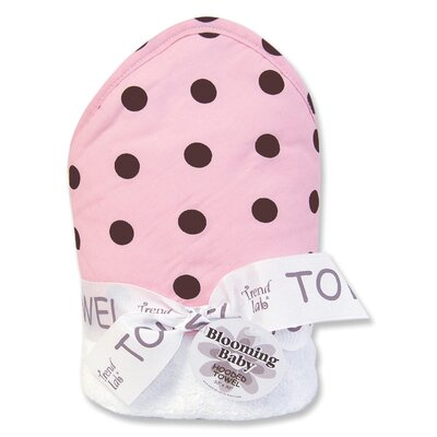 Trend Lab Maya Polka DotsTerry Hooded Towel