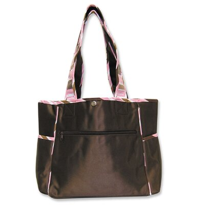 Trend Lab Max Tulip Diaper Tote Bag