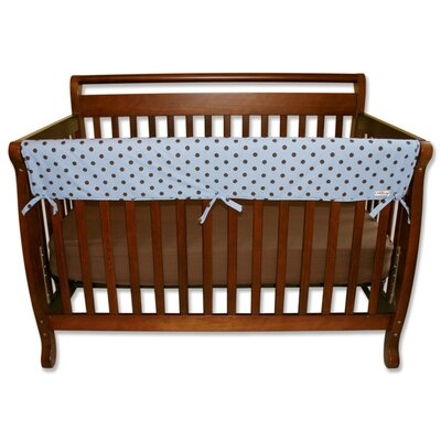 "Trend Lab Max Dot 51"" Front Crib Rail Cover"
