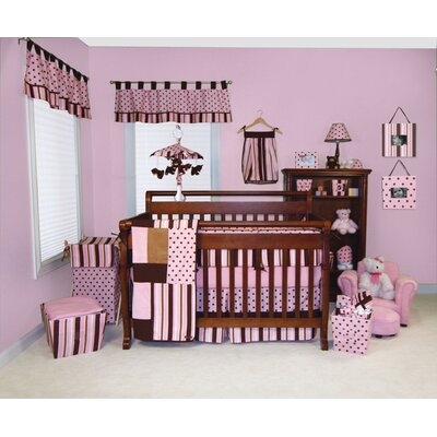 Trend Lab Maya Four Piece Crib Bedding Set