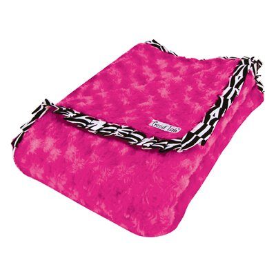 Trend Lab Ruffle Trimmed Zahara Receiving Blanket