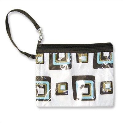 Trend Lab Chocolate Blocks Zipper Pouch Diaper Bag
