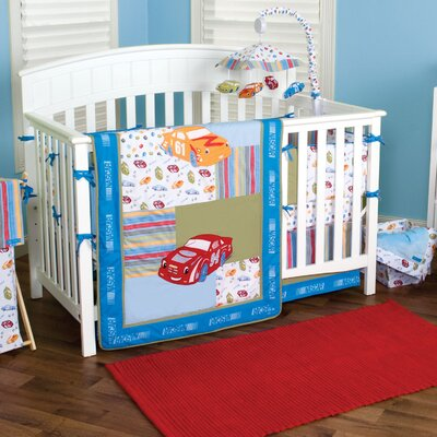 Nascar Crib Bedding Collection